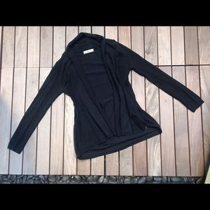ZARA Knit   Navy Cardigan